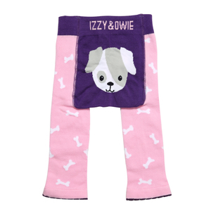 Pink Puppy by Izzy & Owie - 6-12 Months Baby Leggings