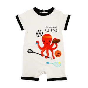 Octopus All Star by Izzy & Owie - 6-12 Months Romper
