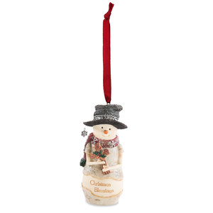 "Blessings by The Birchhearts - 4"" Snowman Ornament"
