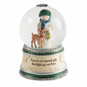 Friends by The Birchhearts - LED lit, Musical Water Globe