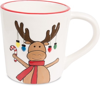 Moose by Holiday Hoopla - 12 oz Mug