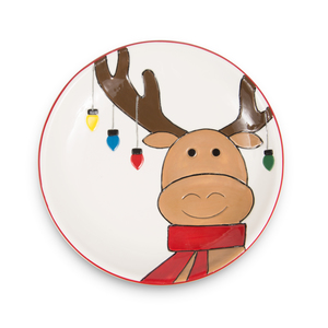 "Moose by Holiday Hoopla - 12"" Name Plate"