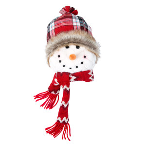 "Jack by WarmHearts - 8"" Snowman Hanging Ornament"