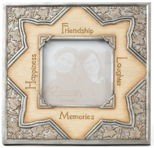 "Friendship by Elements - 6.5""x6.5"" Photo Frame"