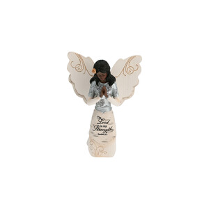 "EBN Prayer by Elements - 5.5"" EBN Kneeling & Praying Angel"