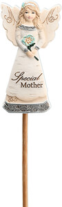 "Special Mother by Elements - 3"" Angel Floral Pick"
