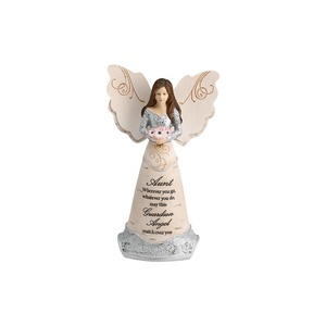 "Aunt Guardian  Angel by Elements - 6"" Guardian Angel"