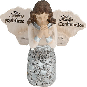 "Communion Girl by Elements - 3.5"" Girl Angel Praying"