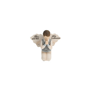 "Communion Boy by Elements - 3.5"" Boy Angel Praying"