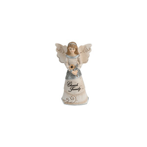 "Family by Elements - 4.5"" Angel Ornament"