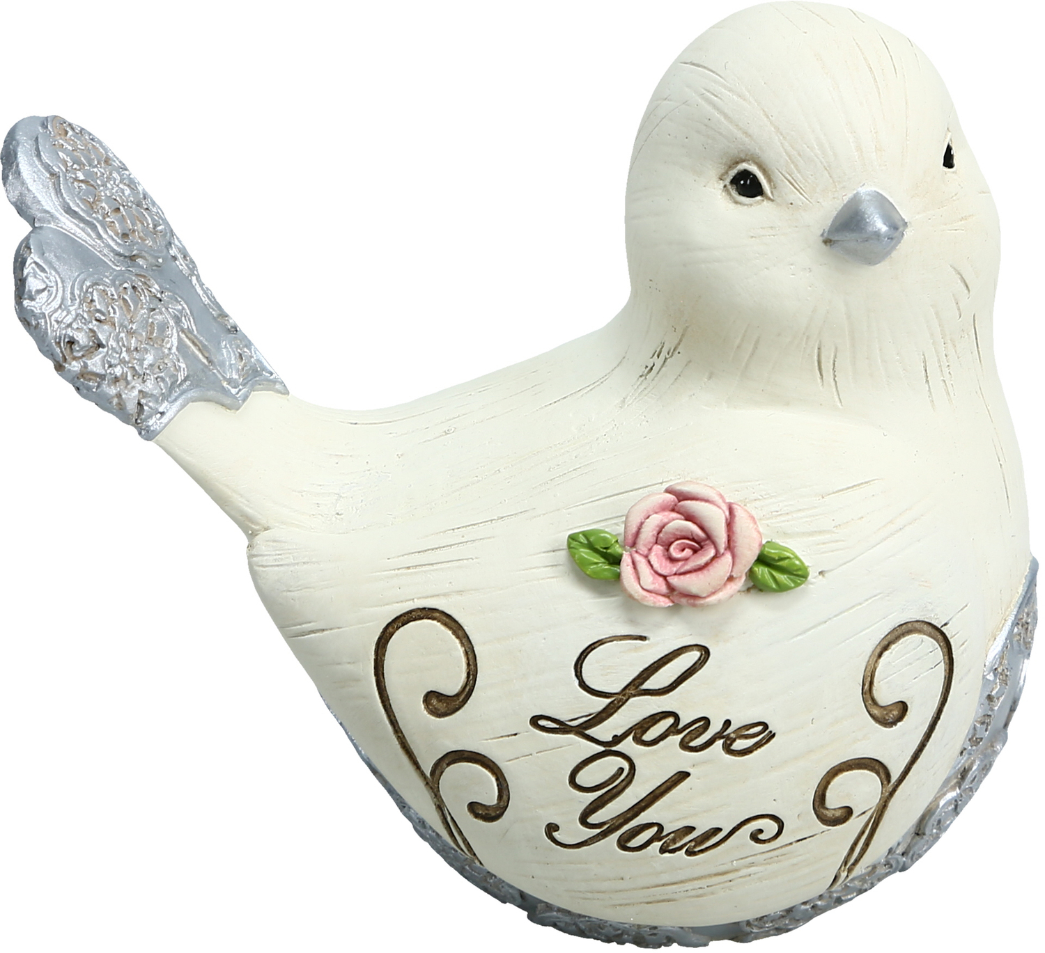 "Love You by Elements - Love You - 3"" Bird Figurine"