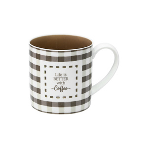 Coffee by Farmhouse Family - 17 oz. Pierced Porcelain Mug