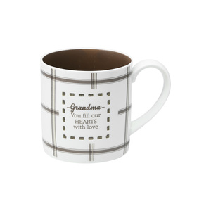 Grandma by Farmhouse Family - 17 oz. Pierced Porcelain Mug