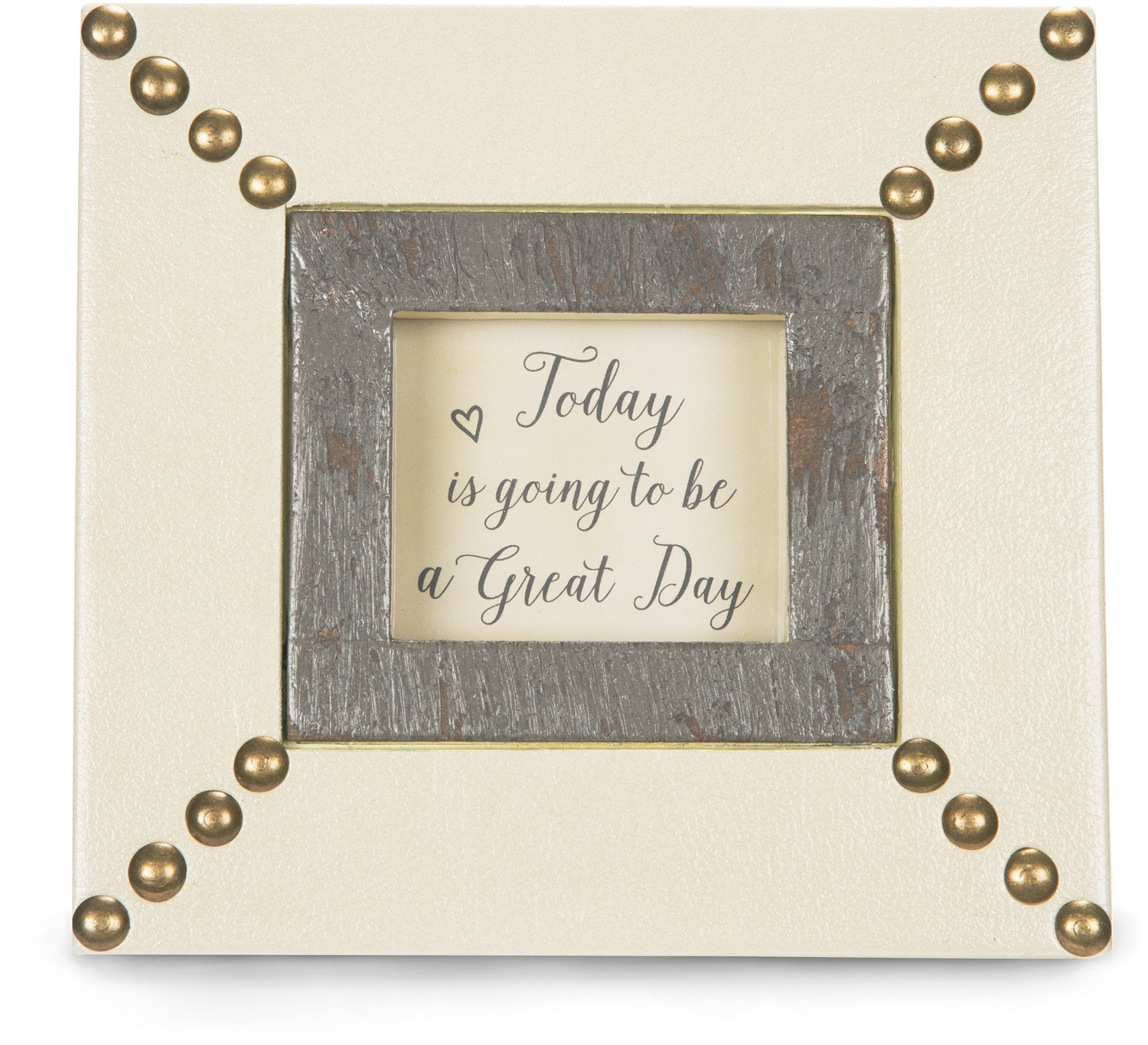 "Today by Emmaline - Today - 6"" x 5.5"" Plaque/Frame"