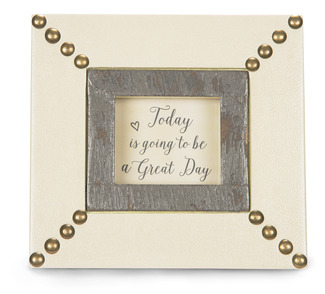 "Today by Emmaline - 6"" x 5.5"" Plaque/Frame"