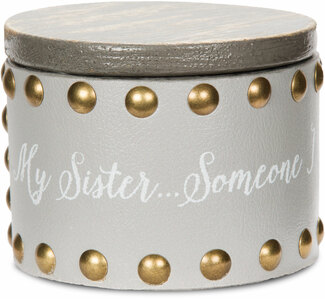 "Sister by Emmaline - 3"" Keepsake Box"