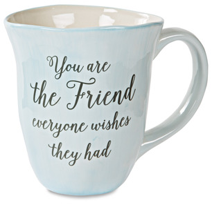 Friend by Emmaline - 16 oz Ceramic Mug