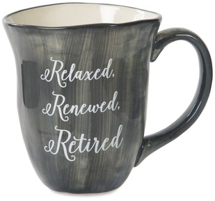 Retired by Emmaline - 16 oz Ceramic Mug