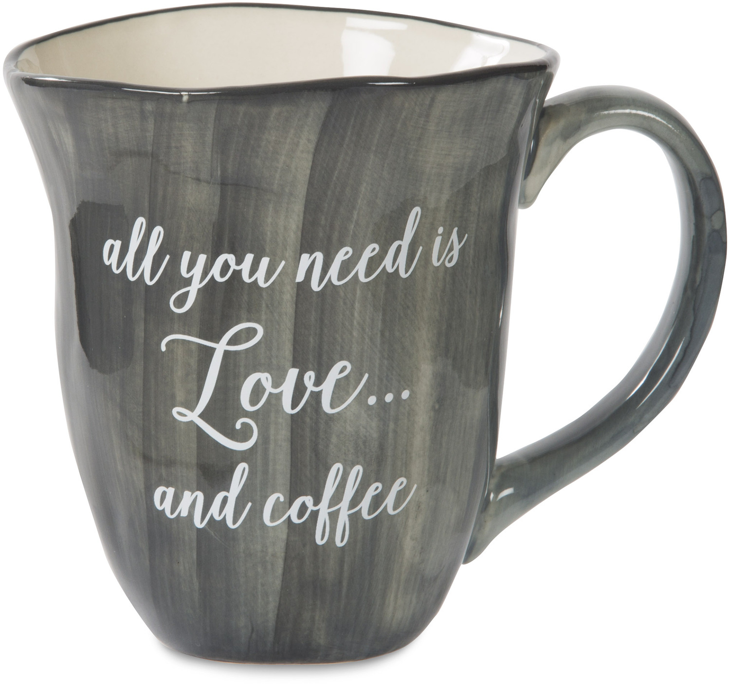 Love and Coffee by Emmaline - Love and Coffee - 16 oz Ceramic Mug