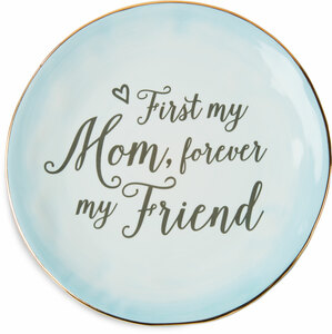 "Mom by Emmaline - 7"" Ceramic Plate"