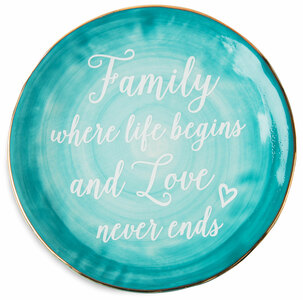 "Family by Emmaline - 7"" Ceramic Plate"