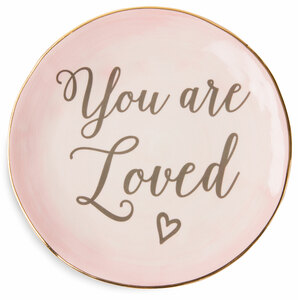 "You are Loved by Emmaline - 5"" Ceramic Plate"