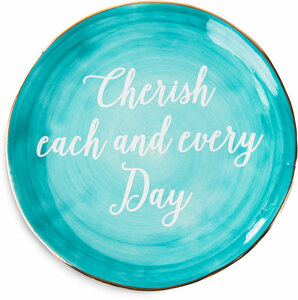 "Cherish the Day by Emmaline - 5"" Ceramic Plate"