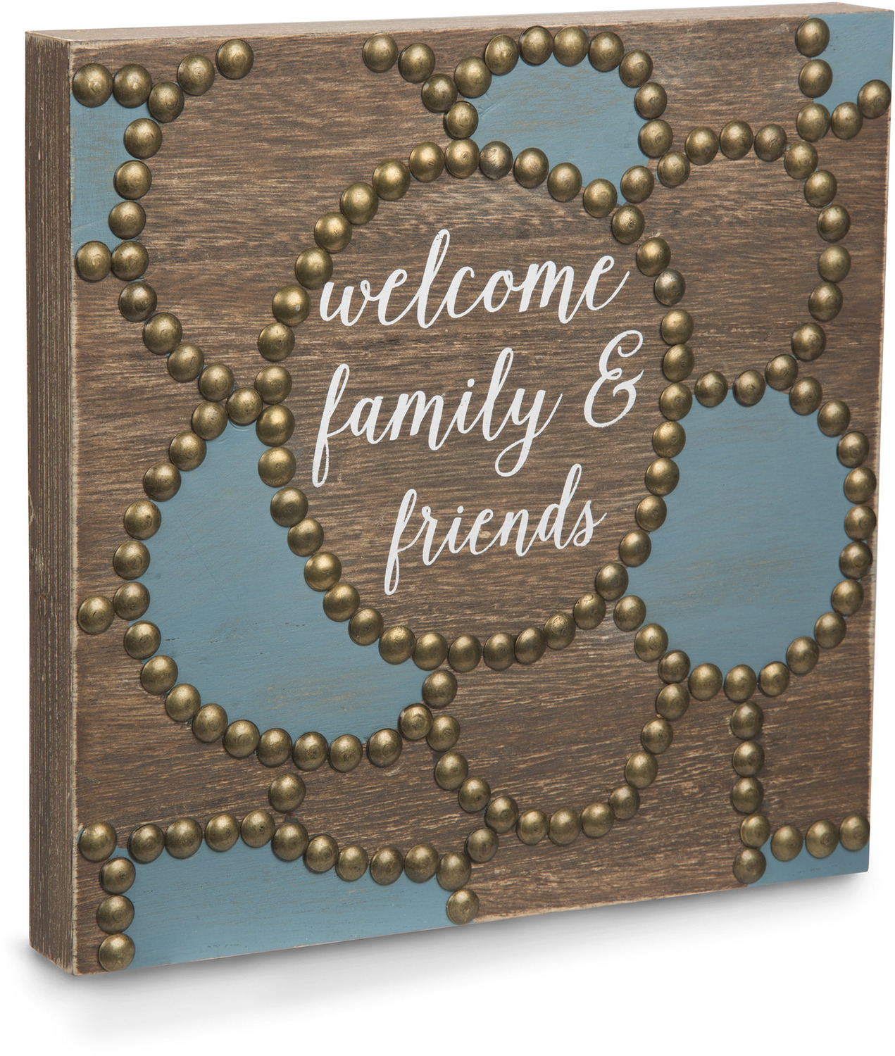 "Welcome by Emmaline - Welcome - 8""  Plaque"