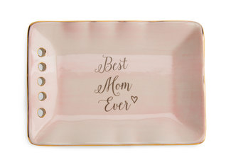 "Mom by Emmaline - 5"" x 3.5"" Keepsake Dish"