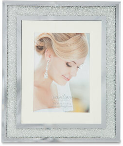 "Crystal by Glorious Occasions - 10.25""x12.25"" Frame (Holds 5""x 7"" Photo)"