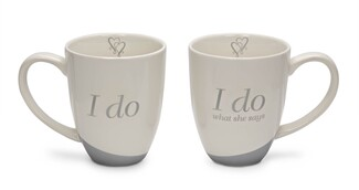 I Do by Glorious Occasions - 14 oz. Cup (Set of 2)
