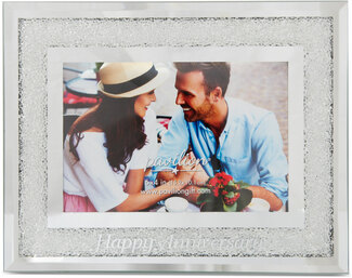 "Happy Anniversary by Glorious Occasions - 7.25""x 9.25"" Frame (Holds 6""x 4"" Photo)"