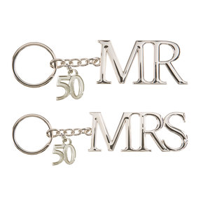 50th Anniversary by Glorious Occasions - Key Chain Set