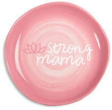 "Strong Mama by Mom Life - 4.5"" Keepsake Dish"