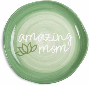 "Amazing Mom by Mom Life - 4.5"" Keepsake Dish"