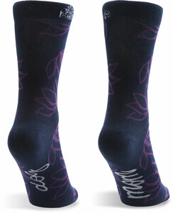Dog Mom  by Mom Life - Ladies Cotton Blend Sock