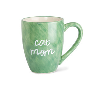 Cat Mom by Mom Life - 20 oz Cup