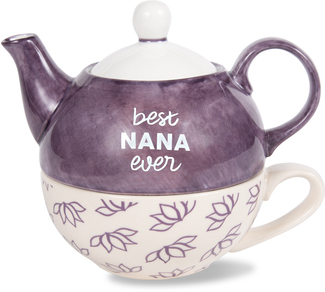 Nana by Mom Life - 15 oz Teapot & 8 oz Cup