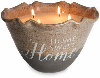 Home Sweet Home by Love Lives Here - Four Wick 25 oz Soy Wax Candle Scent: Tranquility