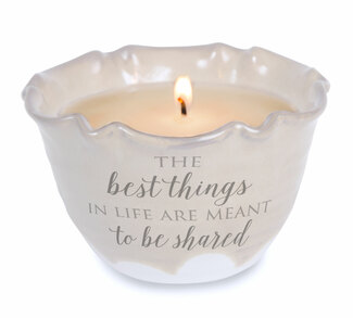 The Best Things by Love Lives Here - Single Wick 9 oz Soy Wax Candle Scent: Tranquility