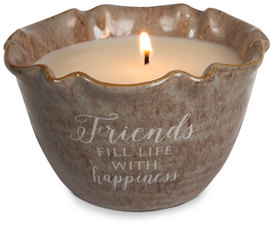 Friends by Love Lives Here - Single Wick 9 oz Soy Wax Candle Scent: Tranquility