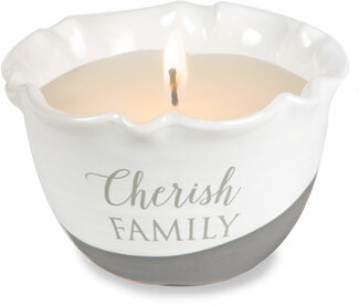 Cherish Family by Love Lives Here - Single Wick 9 oz Soy Wax Candle Scent: Tranquility