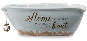 Home by Love Lives Here - Triple Wick 10 oz Soy Wax Candle Scent: Tranquility