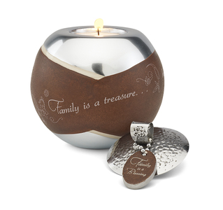 "Family by LAYLA - 4"" Round Candle Holder"