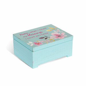 "Nana by Flora by Stephanie Ryan - 3.75"" x 3"" Keepsake Box"