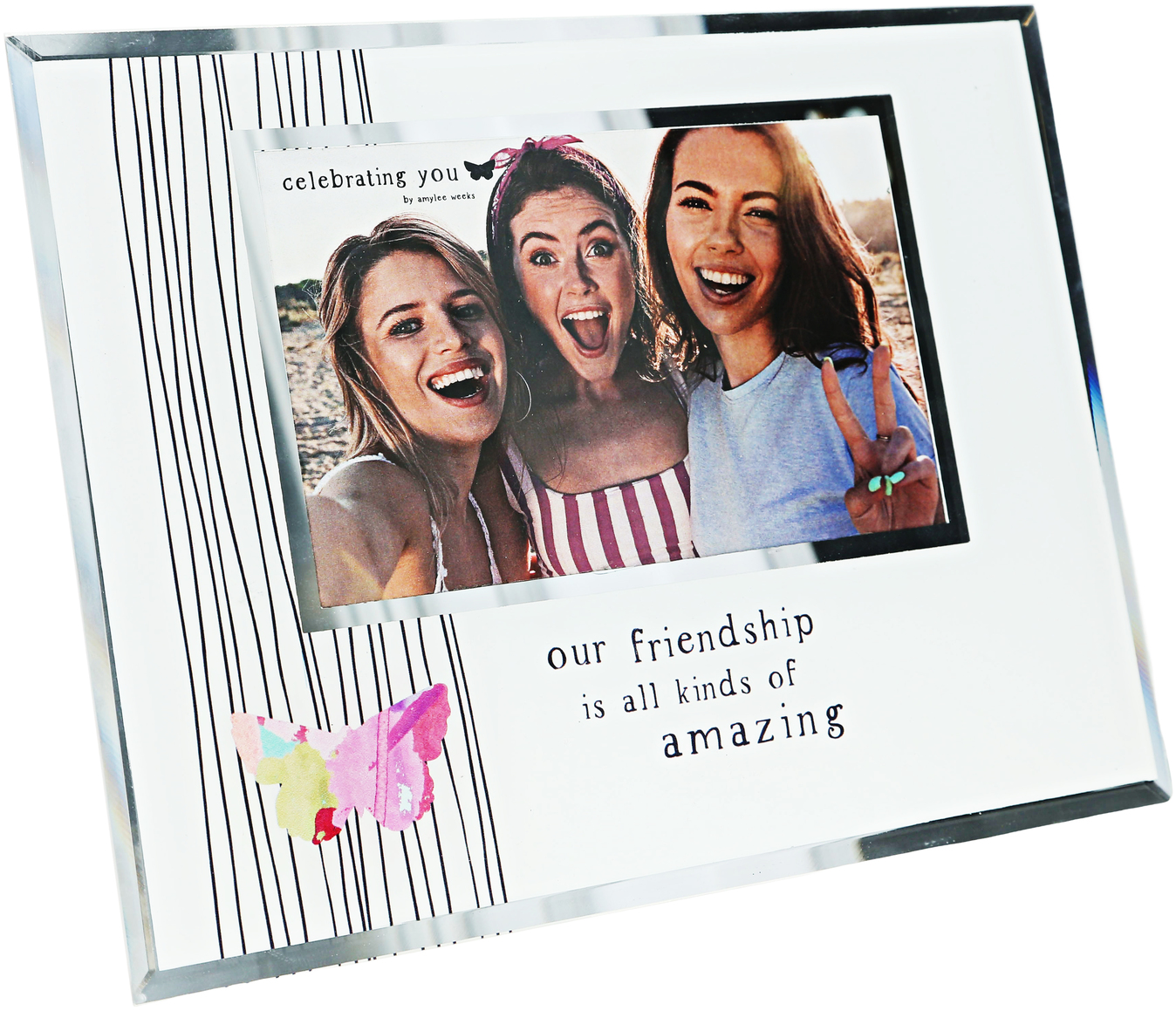"Friendship by Celebrating You - Friendship - 9.25"" x 7.25"" Frame (Holds 6"" x 4"" Photo)"