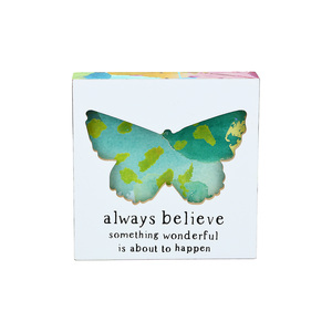 "Believe by Celebrating You - 4.5"" Plaque"