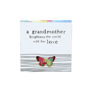 "Grandmother by Celebrating You - 4.5"" Plaque"