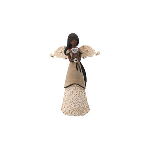 "EBN Love by Modeles - 4.5"" EBN Angel w/Heart Orn."