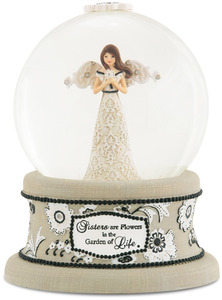 Sister by Modeles - 100mm Musical Water Globe